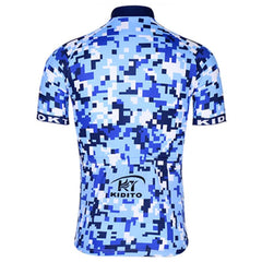 Blue Fashion Cycling Jersey - The Cycling Fever - 2