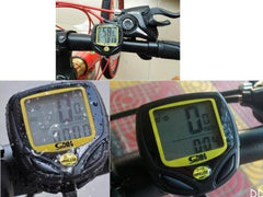 Cycling Wireless LCD Computer Yellow - The Cycling Fever - 4