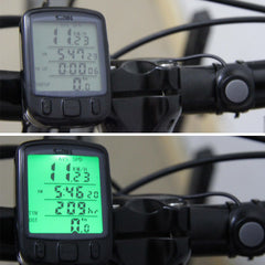 Multifunction Digital LCD Cycling Computer Odometer Speedometer - The Cycling Fever - 1