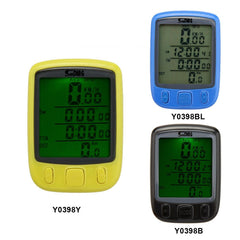 Multifunction Digital LCD Cycling Computer Odometer Speedometer - The Cycling Fever - 2