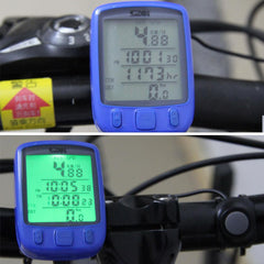 Multifunction Digital LCD Cycling Computer Odometer Speedometer - The Cycling Fever - 6