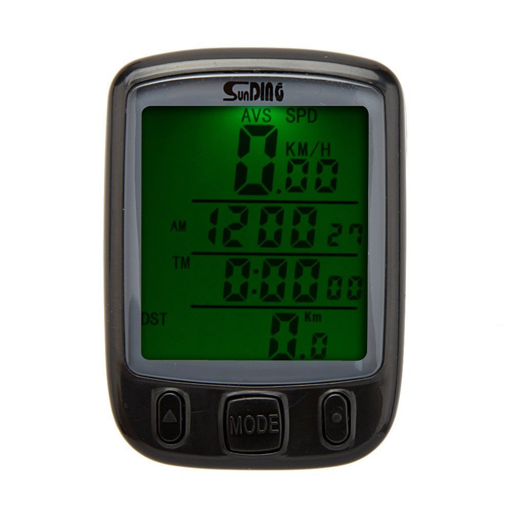 Multifunction Digital LCD Cycling Computer Odometer Speedometer - The Cycling Fever - 7