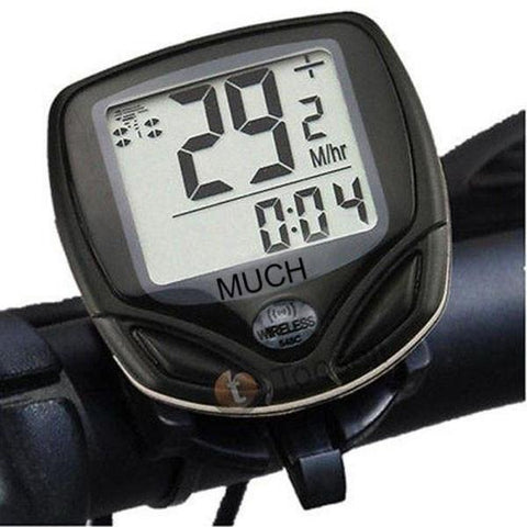 Wireless LCD Digital Bicycle Computer