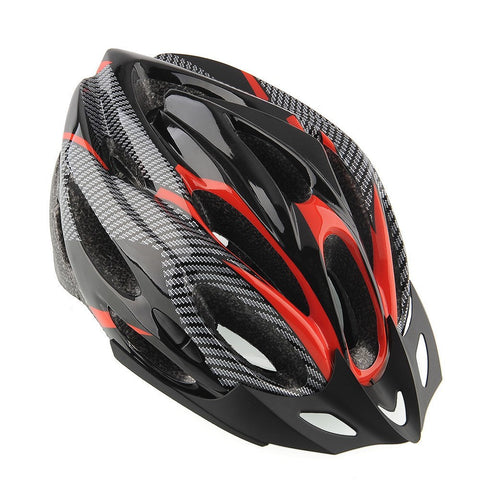 Black and Red Cycling Helmet