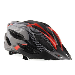 Black and Red Cycling Helmet - The Cycling Fever - 2