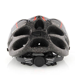Black and Red Cycling Helmet - The Cycling Fever - 3