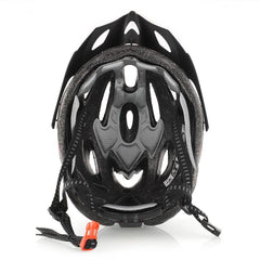 Black and Red Cycling Helmet - The Cycling Fever - 4