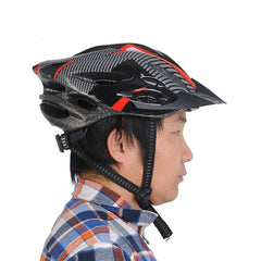Black and Red Cycling Helmet - The Cycling Fever - 6