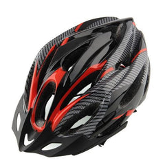 Black and Red Cycling Helmet - The Cycling Fever - 9