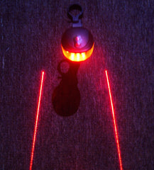 5 LED 2 Laser Tail Warning Bicycle Rear Lamps - The Cycling Fever - 5