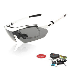 Professional Polarized Cycling Sunglasses With Sports Strap - The Cycling Fever - 10