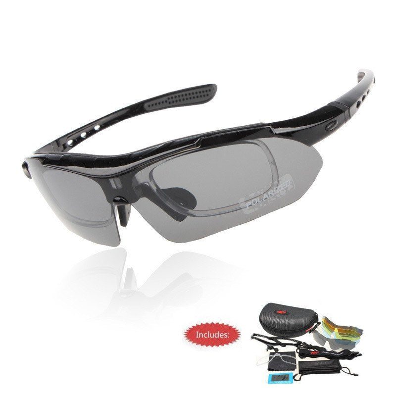 Professional Polarized Cycling Sunglasses With Sports Strap - The Cycling Fever - 6