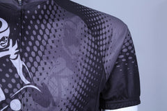 Black Cycling Jersey - The Cycling Fever - 4