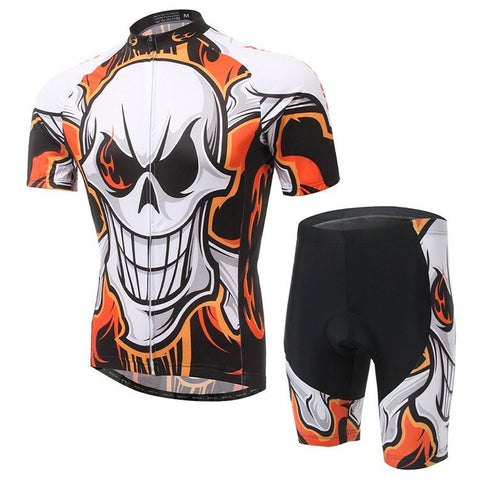 Flame Skull Cycling