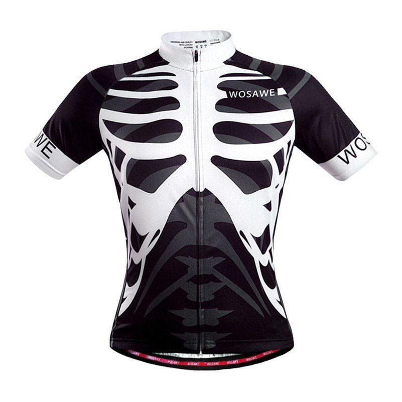 Skeleton Quick Dry Cycling Jersey - The Cycling Fever - 1