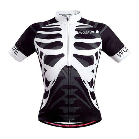 Skeleton Quick Dry Cycling Jersey