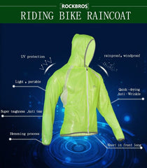 Waterproof & Windproof Cycling Jacket - The Cycling Fever - 12