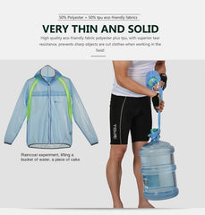 Waterproof & Windproof Cycling Jacket - The Cycling Fever - 15