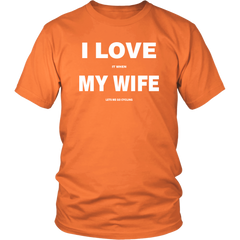I Love My Wife Cycling T-Shirt