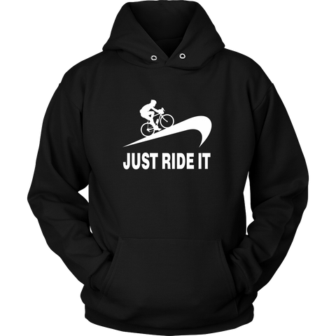 Just Ride It Cycling Hoodie