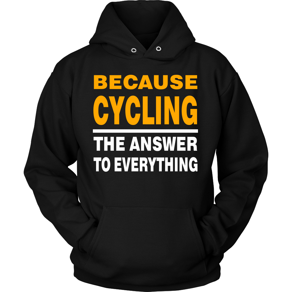 Because Cycling Hoodie