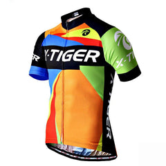 Orange Maillot Cycling Jersey - The Cycling Fever - 1