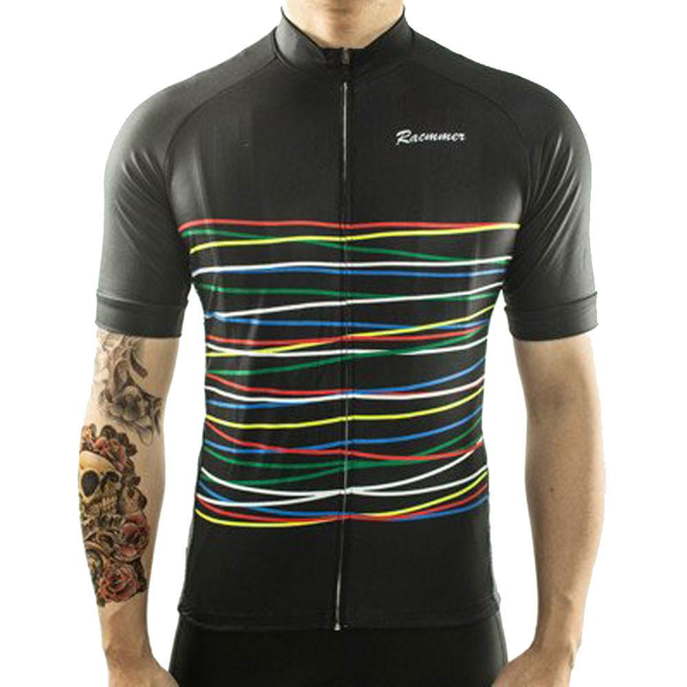 Black Rainbow Cycling Jersey
