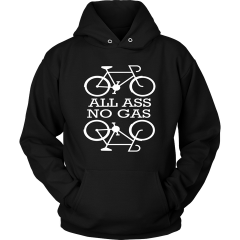 All Ass No Gas Cycling Hoodie