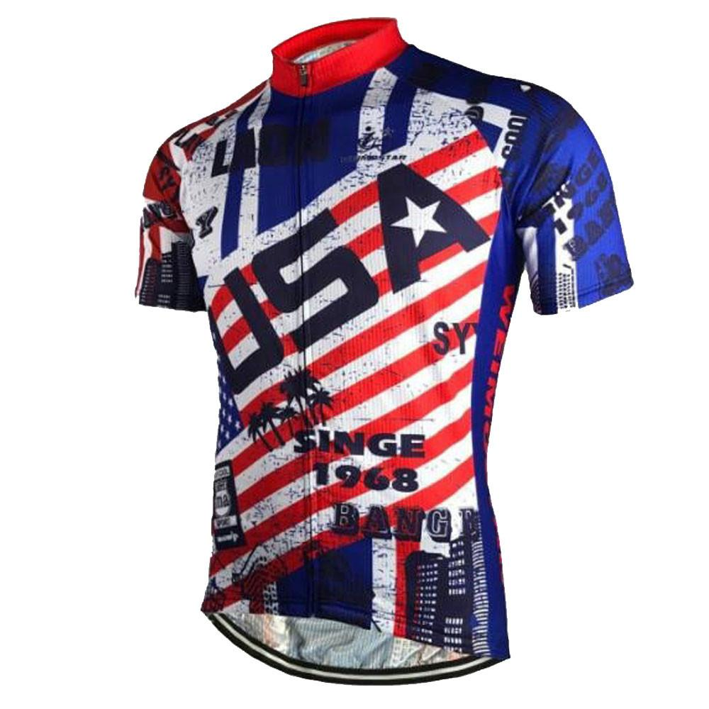 USA Old Style Cycling Jersey