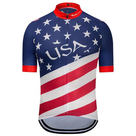 All Over Print USA Cycling Jersey
