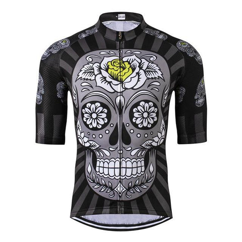 Skull with Rose Cycling Jersey