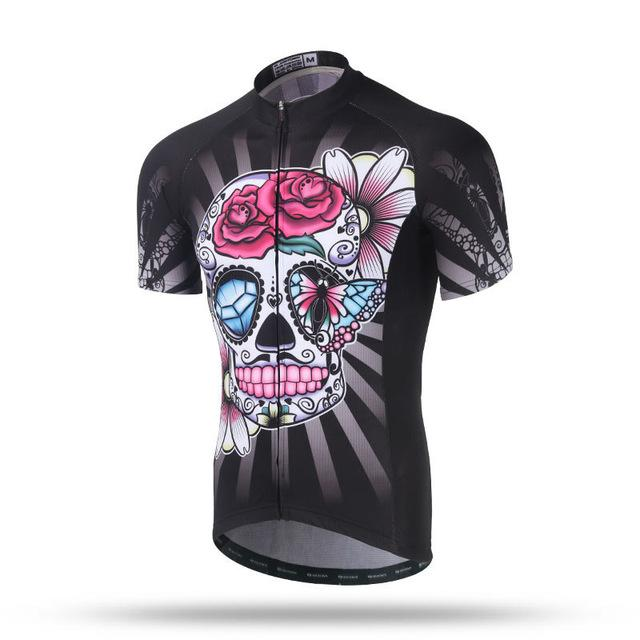 Skull & Diamond Cycling Jersey