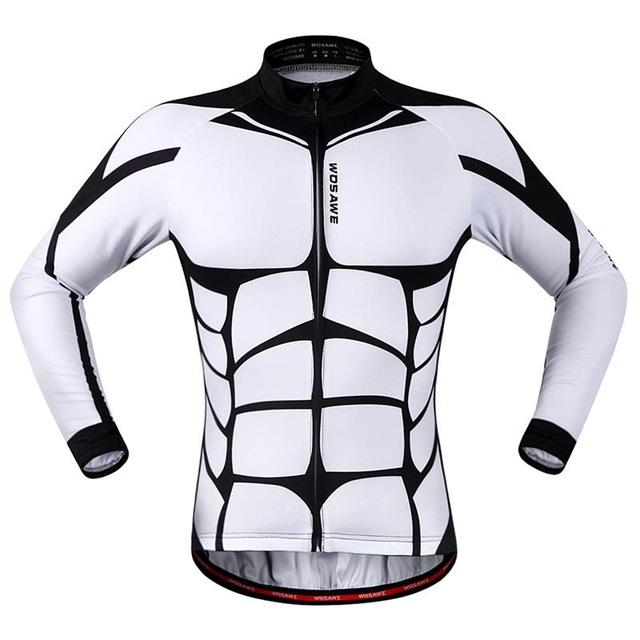 8 Pack Long Sleeve Cycling Jersey