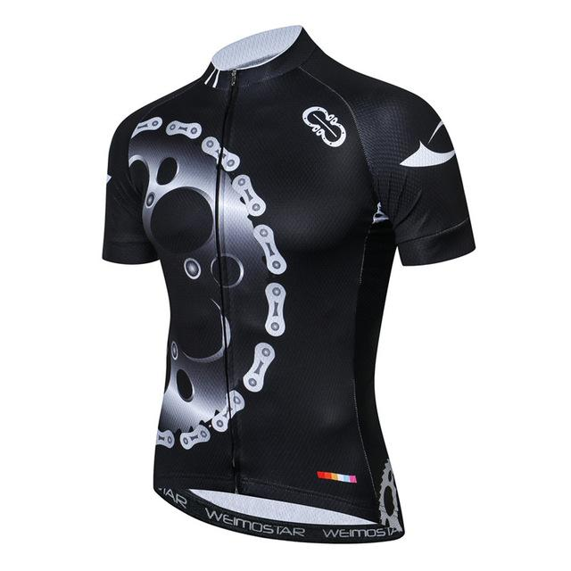 New Black Montainpeak Cycling Jersey