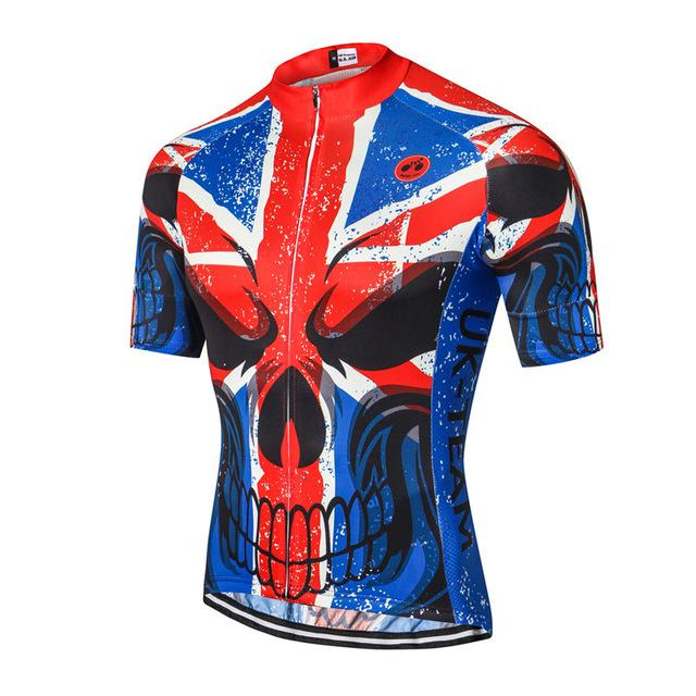 UK Skull Cycling Jersey