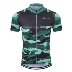 Camouflage Cycling Jersey