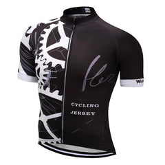 Black Mechanical Jersey