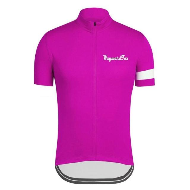 Classic Pink Cycling Jersey