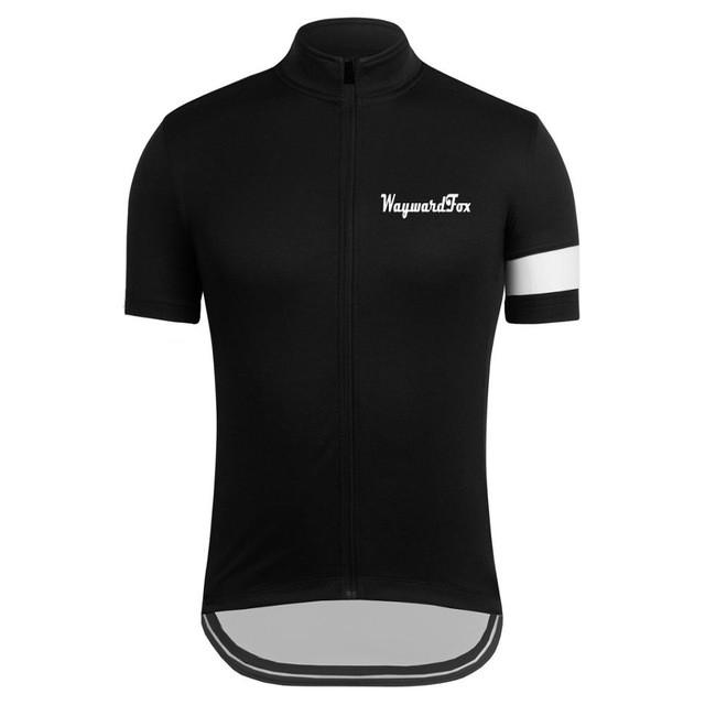 Classic Black Cycling Jersey