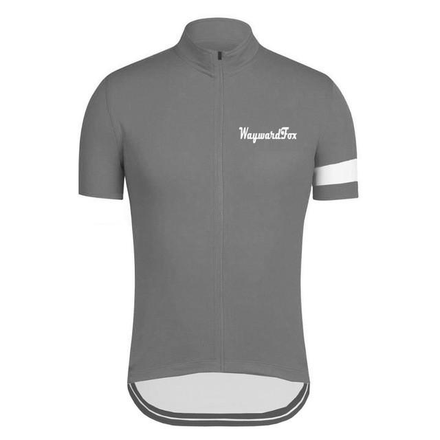 Classic Gray Cycling Jersey