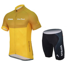Yellow & Orange Cycling Jerseys + Shorts - The Cycling Fever - 7