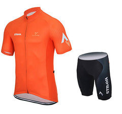 Yellow & Orange Cycling Jerseys + Shorts - The Cycling Fever - 6