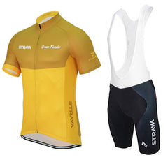 Yellow & Orange Cycling Jerseys + Shorts - The Cycling Fever - 5