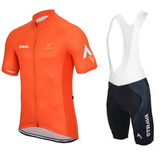 Yellow & Orange Cycling Jerseys + Shorts - The Cycling Fever - 3