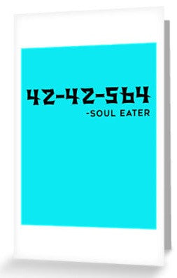 SOUL EATER Greeting Cards