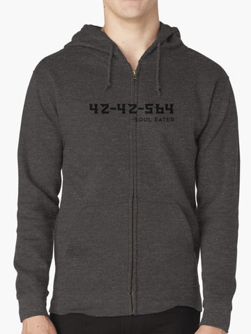 SOUL EATER Zipped Hoodies