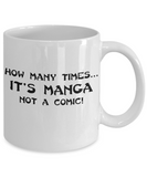 How Many Times... Manga Mug