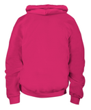 Anime Hoodie Don't Worry Be Happy Pink