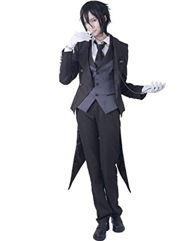Men's Black Butler Sebastian Michaelis Cosplay Costume