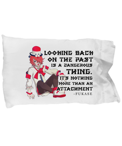 Fukase Quote Pillowcase